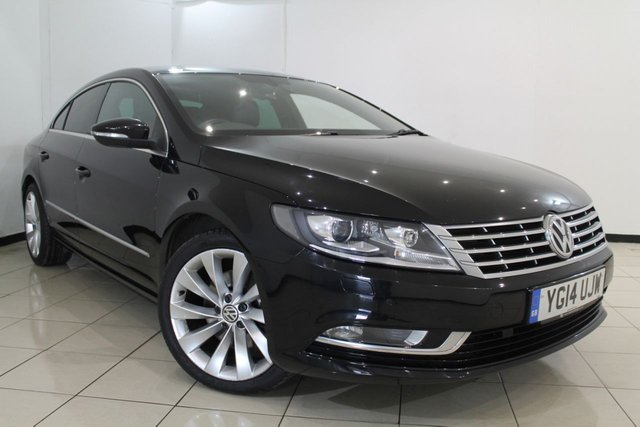 View our 2014 14 VOLKSWAGEN CC 2.0 GT TDI BLUEMOTION TECHNOLOGY 4DR 138 BHP