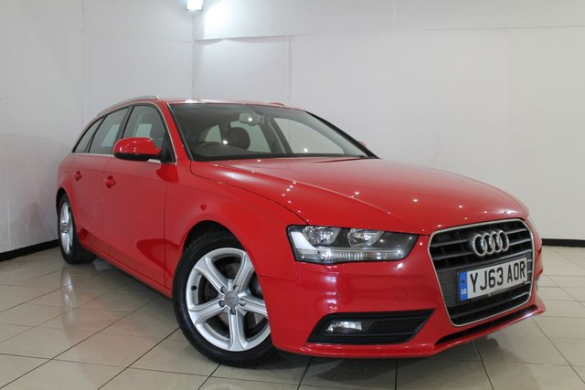 View our 2013 63 AUDI A4 2.0 AVANT TDIE SE TECHNIK 5DR 161 BHP