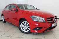 USED 2014 64 MERCEDES-BENZ A CLASS 1.5 A180 CDI ECO SE 5DR 109 BHP MERCEDES SERVICE HISTORY + 0% FINANCE AVAILABLE T&C'S APPLY + HALF LEATHER SEATS + AIR CONDITIONING + BLUETOOTH + MULTI FUNCTION WHEEL + RADIO/CD + 16 INCH ALLOY WHEELS