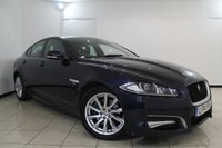 USED 2014 14 JAGUAR XF 2.2 D R-SPORT 4DR AUTOMATIC 200 BHP HALF LEATHER SEATS + SAT NAVIGATION + PARKING SENSOR + BLUETOOTH + CRUISE CONTROL + MULTI FUNCTION WHEEL + ALLOY WHEELS