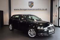 USED 2012 12 AUDI A3 2.0 SPORTBACK TDI QUATTRO SPORT S/S 5DR 168 BHP + FULL AUDI SERVICE HISTORY + SPORT SEATS + AUXILIARY PORT + HEATED MIRRORS + AIR CONDITIONING + 17 INCH ALLOY WHEELS +