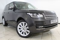 USED 2014 63 LAND ROVER RANGE ROVER VOGUE 3.0 TDV6 VOGUE SE 5DR AUTOMATIC 258 BHP RANGE ROVER SERVICE HISTORY + 0% FINANCE AVAILABLE T&C'S APPLY + HEATED LEATHER SEATS + SAT NAVIGATION + REVERSE CAMERA + HEATED STEERING WHEEL + CRUISE CONTROL + BLUETOOTH + MULTI FUNCTIOB WHEEL + 20 INCH ALLOY WHEELS