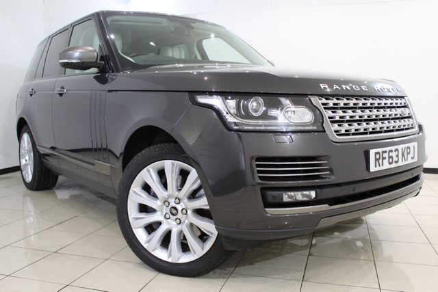 View our 2013 63 LAND ROVER RANGE ROVER VOGUE 3.0 TDV6 VOGUE SE 5DR AUTOMATIC 258 BHP