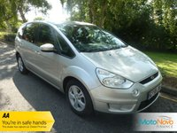 USED 2008 58 FORD S-MAX 1.8 ZETEC TDCI 6SPD 5d 125 BHP GREAT VALUE FORD S-MAX DIESEL WITH SEVEN SEATS, AIR CONDITIONING, ALLOY WHEELS AND SERVICE HISTORY