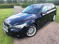 2005 BMW 5 SERIES 2.5 525I M SPORT 5d AUTO 215 BHP Full BMW History, MOT 08/18, Sat Nav M Sport £4595.00
