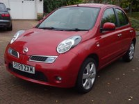 USED 2009 59 NISSAN MICRA 1.2 N-TEC 5d AUTO 80 BHP NAVIGATION SYSTEM***  1 OWNER FROM NEW***  SERVICE RECORD***  2 KEYS***