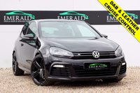 """USED 2012 62 VOLKSWAGEN GOLF 2.0 R 3d 270 BHP **£0 DEPOSIT FINANCE AVAILABLE**SECURE WITH A £99 FULLY REFUNDABLE DEPOSIT** DAB RADIO, FULL LEATHER UPHOLSTERY, HEATED FRONT SEATS, DUAL CLIMATE CONTROL & AIR CON, ELECTRIC WINDOWS, PRIVACY GLASS, 19"""" ALLOYS, AUX INPUT, ISOFIX AND SUNROOF"""