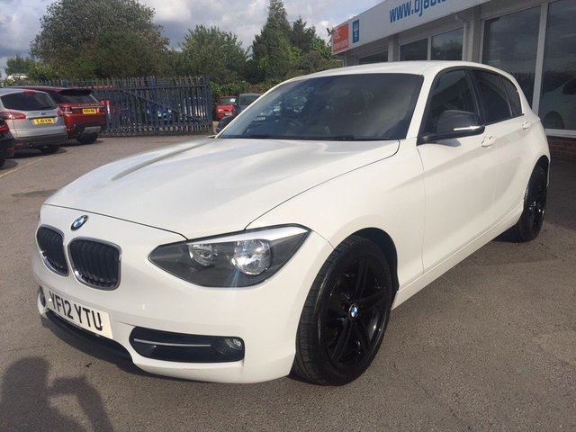2012 12 BMW 1 SERIES 2.0 120d Sport 5dr