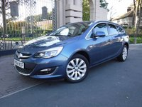 USED 2014 64 VAUXHALL ASTRA 2.0 ELITE CDTI 5d AUTO 163 BHP ****FINANCE ARRANGED***PART EXCHANGE***FULL LEATHER***1 OWNER***