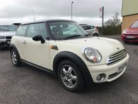 2008 MINI HATCH COOPER 1.6 COOPER 3d 118 BHP £3795.00