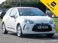 USED 2011 61 CITROEN DS3 1.6 DSTYLE 3d AUTO 120 BHP