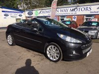 USED 2010 59 PEUGEOT 207 1.6 CC GT 2d 120 BHP 0% FINANCE AVAILABLE PLEASE CALL 01204 317705