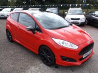2016 FORD FIESTA 1.0 ZETEC S RED EDITION 3d 139 BHP £8500.00
