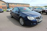 USED 2007 57 VOLKSWAGEN EOS 2.0 SPORT TDI DSG 2d AUTO 138 BHP LOW DEPOSIT OR NO DEPOSIT FINANCE AVAILABLE.