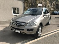 USED 2006 06 MERCEDES-BENZ M CLASS 3.0 ML320 CDI SPORT 5d AUTO 222 BHP MANY EXTRAS ** EXCELLENT CONDITION THROUGHOUT **