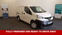 USED 2015 15 NISSAN NV200 1.5 DCI Acenta with Bluetooth Phone Connectivity AUX/USB/MP3 +Low Mileage 43,138 miles+One Owner+ Reversing Camera **Drive Away Today** Over The Phone Low Rate Finance Available, Just Call us on 01709 866668