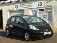 USED 2009 59 HONDA JAZZ 1.3 I-VTEC ES 5d 98 BHP 5 Service4 Stamps , Low mileage , Folding mirrors