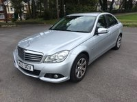 USED 2012 12 MERCEDES-BENZ C CLASS 2.1 C220 CDI BLUEEFFICIENCY SE 4d AUTO 168 BHP AUTOMATIC DIESEL MERCEDES WITH FULL SERVICE HISTORY