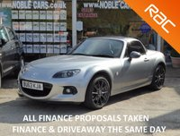 USED 2013 63 MAZDA MX-5 1.8 I ROADSTER SPORT GRAPHITE EDITION 2d 125 BHP