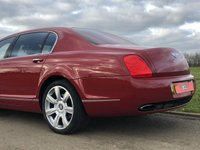 USED 2006 56 BENTLEY CONTINENTAL FLYING SPUR 6.0 W12 FLYING SPUR 5 SEATER AUTO 550 BHP 4 DR SALOON +GLASS ROOF+SOFT CLOSE+2 OWNER
