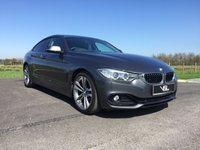 USED 2015 15 BMW 4 SERIES 2.0 420I SPORT GRAN COUPE 4d AUTO 181 BHP