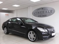 USED 2013 13 MERCEDES-BENZ E CLASS 3.0 E350 CDI BLUEEFFICIENCY SPORT 2d AUTO 265 BHP A Stunning Car With A Massive Spec - A Must See