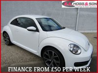 2014 VOLKSWAGEN BEETLE 1.6 TDI B/MOTION TECH 3dr 104 BHP  £SOLD