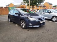 USED 2013 63 FORD FOCUS 1.0 ZETEC 5d 99 BHP ECO TURBO WITH LOW CO2 EMISSIONS!!!...EXCELLENT FUEL ECONOMY!!.LOW CO2 EMISSIONS(109 G/KM)..£20 ROAD TAX...FULL FORD HISTORY...ONLY 14326 MILES FROM NEW!!...WITH ALLOY WHEELS, AIR CONDITIONING, AND FRONT HEATED WINDSCREEN!!