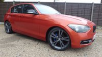 USED 2012 12 BMW 1 SERIES 1.6 116i SPORT 5dr Stunning Colour, PDC, 18's