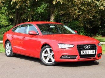 2012 AUDI A5 2.0 SPORTBACK TFSI QUATTRO SE 5d AUTO 211 BHP £14795.00