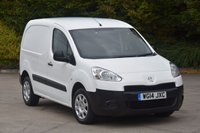 USED 2014 14 PEUGEOT PARTNER 1.6 HDI S L1 850 5d 89 BHP SWB STANDARD ROOF DIESEL MANUAL VAN  ONE OWNER FULL S/H SPARE KEY