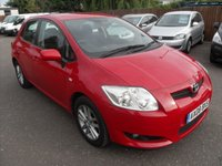 USED 2008 08 TOYOTA AURIS 1.6 TR VVT-I 5d 122 BHP NO DEPOSIT  FINANCE ARRANGED, APPLY HERE NOW