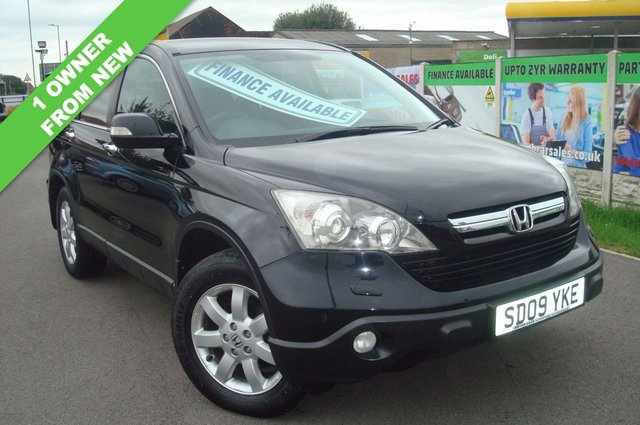 2009 09 HONDA CR-V 2.2 I-CTDI ES 5d 139 BHP 1 OWNER FROM NEW WITH FSH
