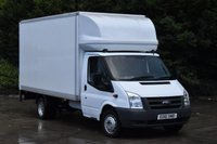 USED 2011 61 FORD TRANSIT 2.4 350 E/F DRW 2d 115 BHP LWB RWD REAR ELECTRIC LIFT DIESEL LUTON VAN ONE OWNER FULL S/H SPARE KEY