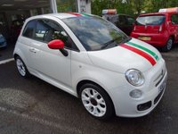 USED 2013 13 FIAT 500 1.2 S *ITALIAN BUNNY* 3d 69 BHP Fiat Service History + Just Serviced by ourselves, One Previous Owner, MOT until August 2018, Great on fuel economy! Only £30 Road Tax!