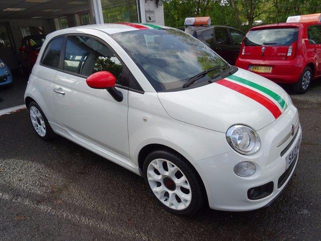 2013 13 FIAT 500 1.2 S *ITALIAN BUNNY* 3d 69 BHP