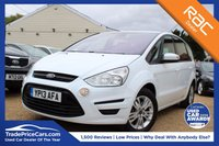 USED 2013 13 FORD S-MAX 2.0 ZETEC TDCI 5d 138 BHP bluetooth, cruise control & more