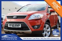USED 2011 60 FORD KUGA 2.0 ZETEC TDCI 2WD 5d 138 BHP bluetooth, cruise control & more