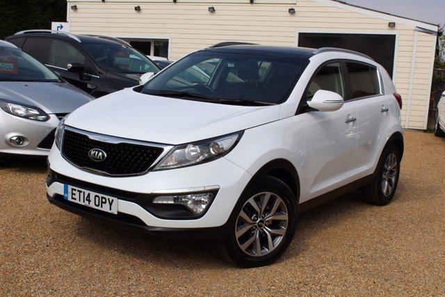 View our 2014 14 KIA SPORTAGE 1.7 CRDI 2 ISG 5d 114 BHP