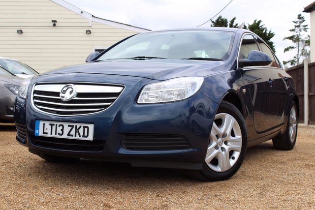 View our 2013 13 VAUXHALL INSIGNIA 2.0 EXCLUSIV CDTI 4d 128 BHP