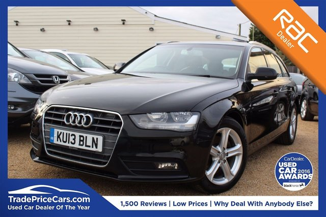 View our 2013 13 AUDI A4 2.0 AVANT TDI SE TECHNIK 5d 134 BHP