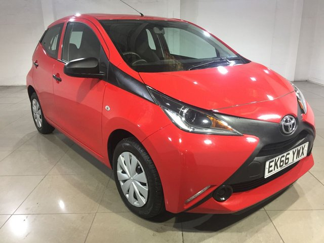 View our 2016 66 TOYOTA AYGO 1.0 VVT-I X 5d 69 BHP