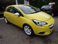 USED 2015 15 VAUXHALL CORSA 1.2 STING 3d 69 BHP Just Serviced by ourselves, MOT until March 2018, One Previous Owner, Great on fuel! Low Insurance Group!