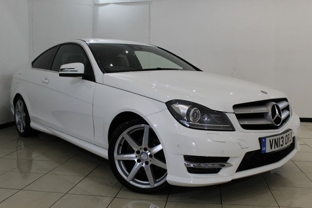 View our 2013 13 MERCEDES-BENZ C CLASS 2.1 C250 CDI BLUEEFFICIENCY AMG SPORT 2DR AUTOMATIC 204 BHP