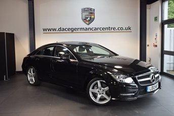 2013 MERCEDES-BENZ CLS CLASS 3.0 CLS350 CDI BLUEEFFICIENCY AMG SPORT 4DR AUTO 265 BHP £16470.00