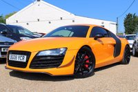 USED 2008 08 AUDI R8 4.2 QUATTRO 2d AUTO 420 BHP A One Off Example finished in R8 GT Orange