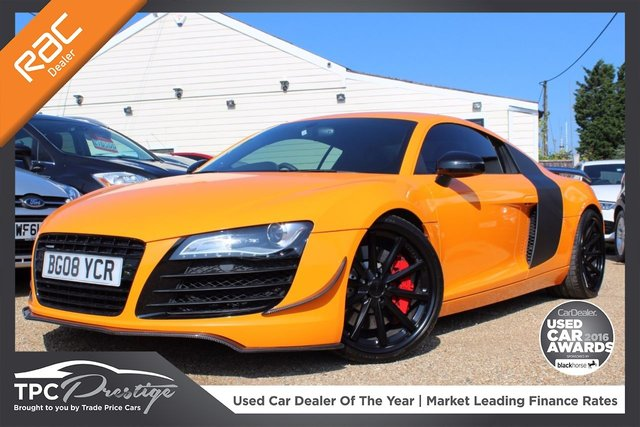 View our 2008 08 AUDI R8 4.2 QUATTRO 2d AUTO 420 BHP