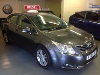 USED 2010 10 TOYOTA AVENSIS 2.0 T4 D-4D  Leather Interior.......Satnav