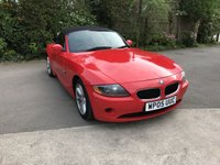 USED 2005 05 BMW Z4 2.0 Z4 ROADSTER 2d 148 BHP