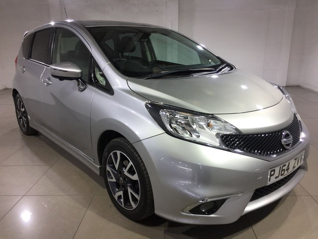 View our 2015 64 NISSAN NOTE 1.5 DCI TEKNA 5d 90 BHP